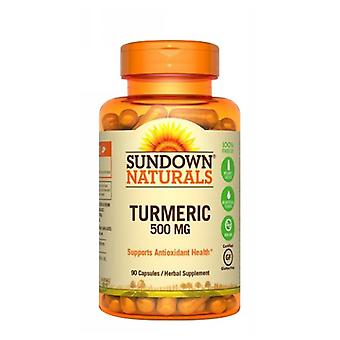 Sundown Naturals Turmeric Curcumin, 500 mg, 12 X 90 Caps