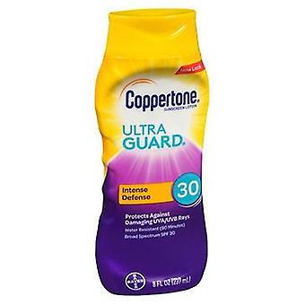 Coppertone Ultra Guard Sunscreen Lotion SPF 30, 8 Oz