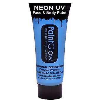 PaintGlow Neon Uv kasvo- ja vartalomaali - sininen 13ml (aa1a03)