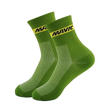 Professional Cycling Socks- High Cool Tall Mountain Bike Socks, Outdoor Sport