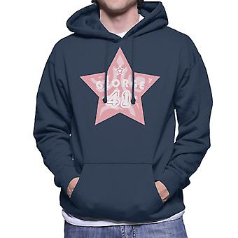 Curious George 41 Star Men's Hooded Sweatshirt