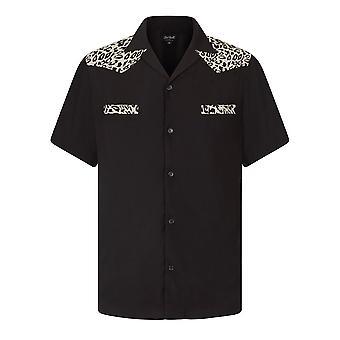 Chet Rock Jeffery Leopard Bowling Shirt