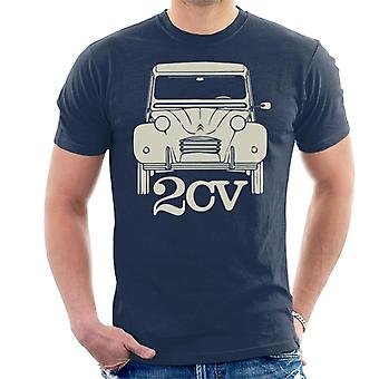 Citro�n 2CV For Dark Men's T-Shirt