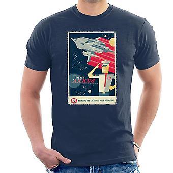 Pixar Wall E tuo galaksin kotiovellesi Men's T-paita