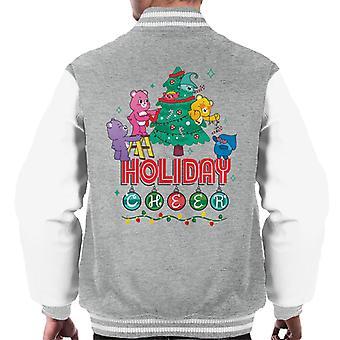 Care Bears Odblokować Magic Christmas Holiday Cheer Kurtka Varsity Mężczyzn