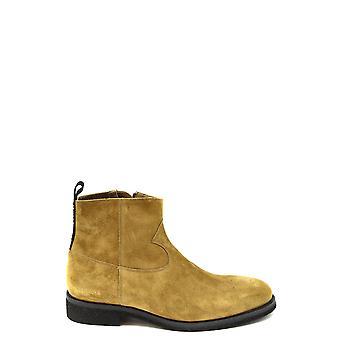 Golden Goose Ezbc011049 Hombres's Botas de tobillo de ante marrón