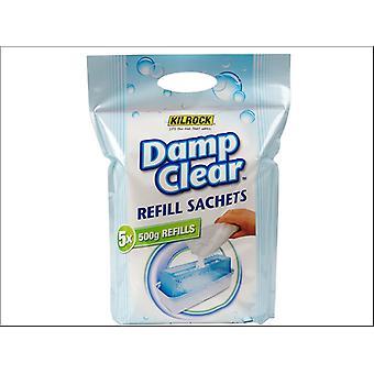 Kilrock Damp Clear Refill 5 x 500g