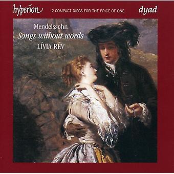 F. Mendelssohn - Mendelssohn: Songs Without Words [CD] USA import