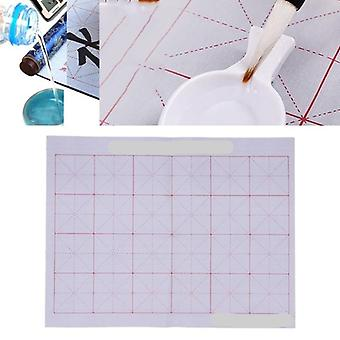 Magic Water Writing, Cloth Gridded, Notebook Mat, Practicing Calligraphy