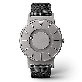 Eone Bradley Canvas Noir & Grey Titanium Watch