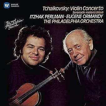 Itzhak Perlman - Tchaikovsky: Violin Concerto & Serenade Melancoliq [CD] USA import