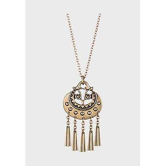 Kalevala Necklace Adjustable 55/60cm Moon goddess Bronze 3203031