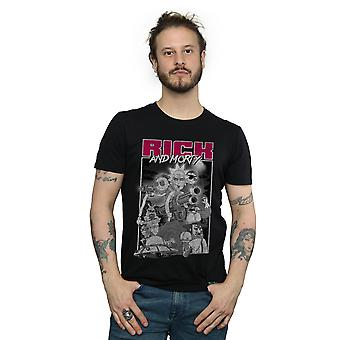 Culte absolue hommes Rick et canons Morty T-Shirt