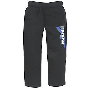 Puma TD Sweat Joggers Toddlers Kids Black Pants Track Bottoms 829704 01 R6E