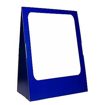"""Deluxe Spiral-Bound Flip Chart Stand With 18"""" X 24"""" Dry Erase Board"""