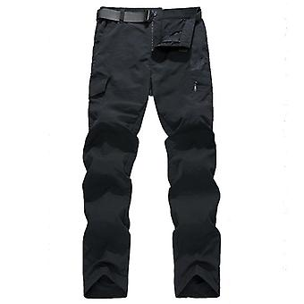 Men's Military Style Cargo Pants, Summer Waterproof Breathable Trousers,