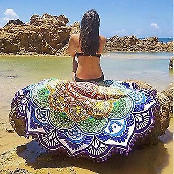 Mandala Tassel Ręcznik plażowy