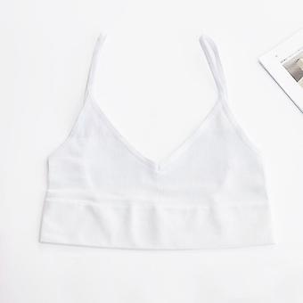 Open Back Tank Top Brassiere, Comfortable Seamless Women Bra, Wirefree