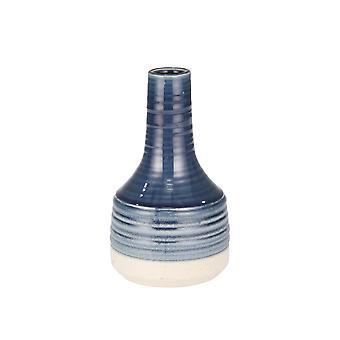 "Keramik Genie Vase 10"", Marine"