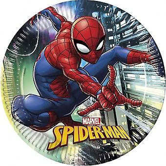 Party Signs Spider-Man 23 Cm 8 Pieces Multicolor 314.883