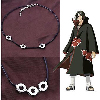 Collana Naruto Anime Ciondolo in acciaio titanio Cosplay