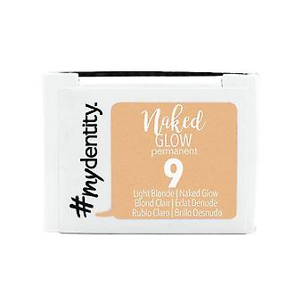 #mydentity Naked Glow Permanent Hair Colour - 9 Light Blonde