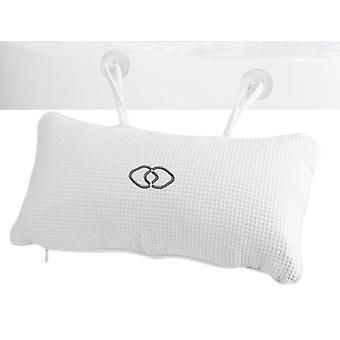 Bathtub Pillow Spa Bath Cushion Soft Headrest Suction Cup Accessories
