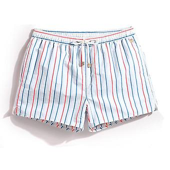 Menn Stripe Sommer Fashion Beach Shorts
