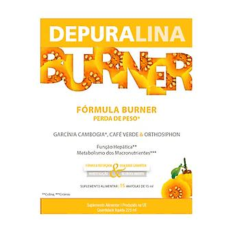 Depuralina Burner 15 ampoules of 15ml (Pineapple)