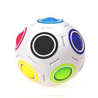 Magic Rainbow Puzzles, Creative Maze Toy, Fidget Ball, Autism, Hand Game, Anti