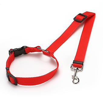 Dog Collar And Leash Set, Adjustable Nylon Collar With Matching Leash For Small Medium And Large Dogs, Quick Release And Breathable Collar For Puppies