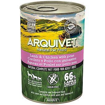 Arquivet Wet Dog Food Adult Lamb and Chicken (Dogs , Dog Food , Wet Food)