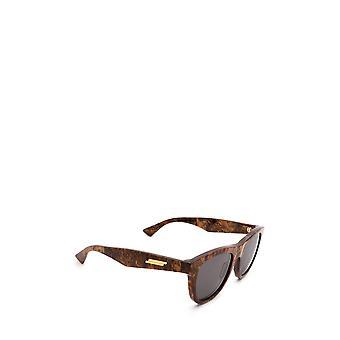 Bottega Veneta BV1001S lunettes de soleil unisexes en bronze