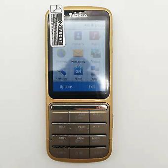 Ricondizionato-originale C3-01 2.4 'inch 5mp Camera 1050mah Wifi Bluetooth Singolo