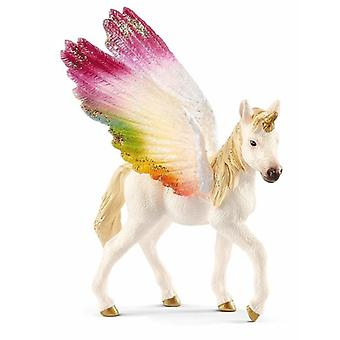 Gevleugelde Rainbow Unicorn Mare USA import