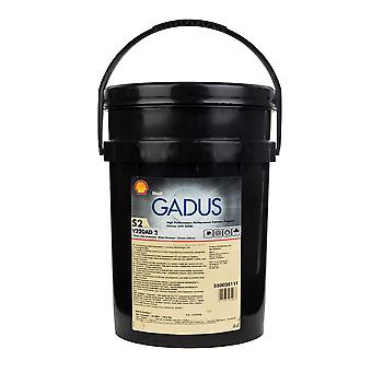 Shell 550028111 Gadus S2 V220Ad 2 18Kg Multipurpose High Pressure Grease Solids