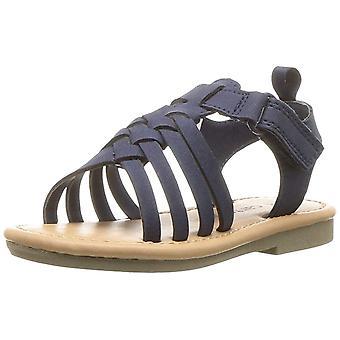 Kids Carter's Girls Denise2 Pull On Ankle Strap Slide Sandals