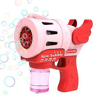 Baby Bubble Maker Gun Automatic Bubble Machine Fun Safe Children's Outdoor Toy