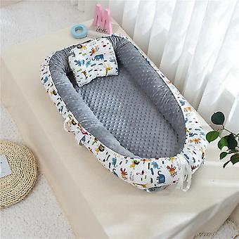 Lastensänky Vauvanpesä, Kannettava Vauvansänky, Matka, Puuvilla Vastasyntynyt lastentarha, Pikkulapsi