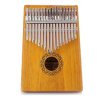 Kalimba Thumb Piano 17 Keys Beginner Portable Musical Instrument