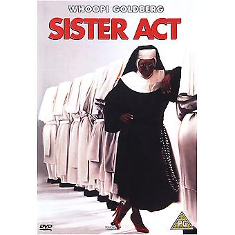Sister Act 1992 DVD
