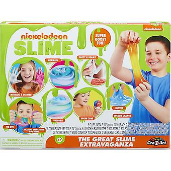 Nickelodeon Super Spectacular Slime Creations