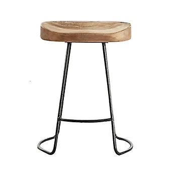 Solid Wood Surface Bar House Creative High Chair