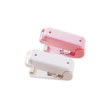 Bärbar mini tätningsmaskin, hushållssnacks plastpåse tätningsmaskin