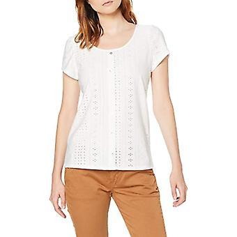 edc by Esprit 059cc1k005 T-Shirt, White (off White 110), X-Small Woman