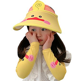 Sunshade Sports Hat And Outdoor Arm Sleeves Sun Guard Set For Girls G
