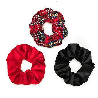 Girl christmas red hair ring gift