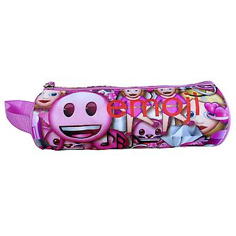 Playmobil Emoji - Etui - Rond - Roze Smile - 21 cm