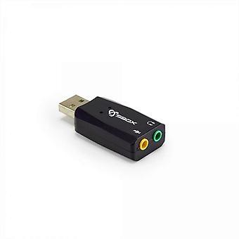 Sbox USB Soundcard Stick USBC-11 Black