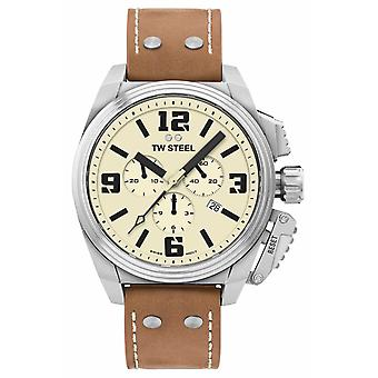 TW Steel Canteen Chronograph Cream Dial TW1010 Watch